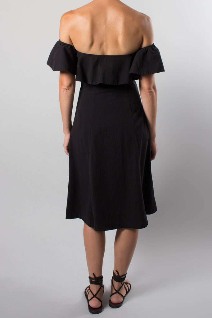 Apiece Apart ALEKSANDER Off Shoulder Dress