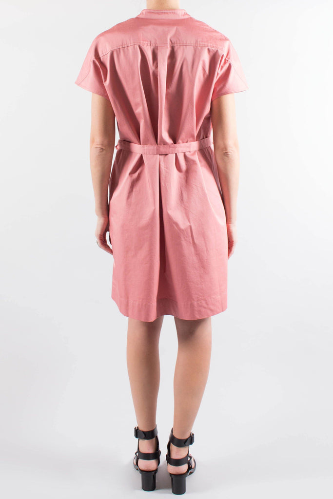 Co Sleeveless Cotton Dress w/ Pockets