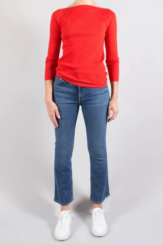 CO Fine Cashmere Boatneck Sweater