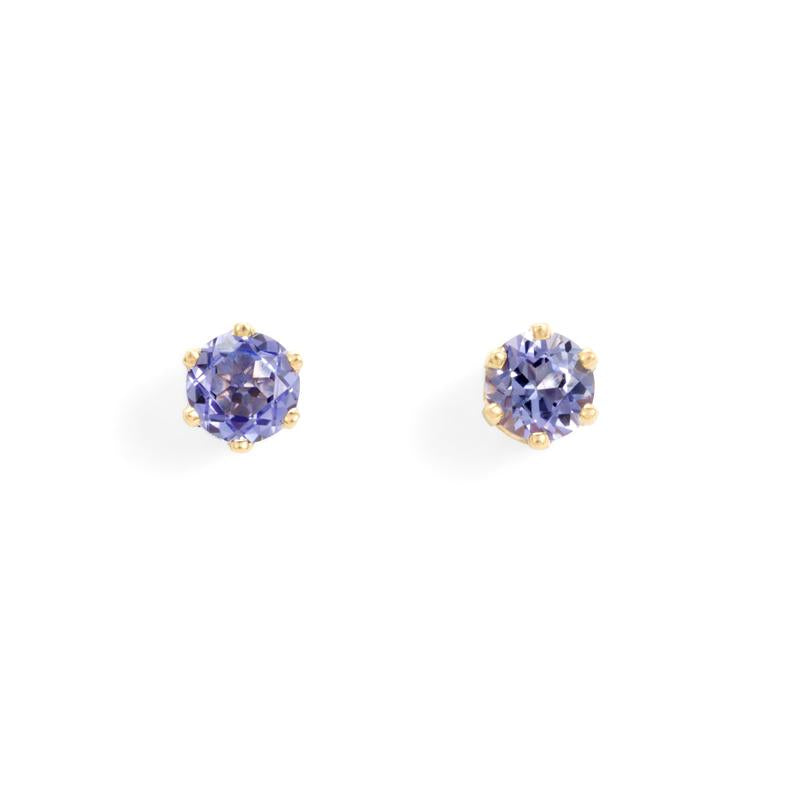 Satomi Kawakita Assorted Birthstone Solitaire Earrings