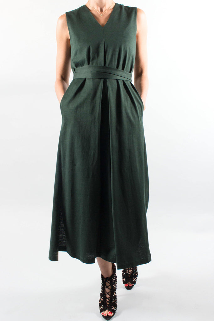ENFOLD Jersey Wrap Dress
