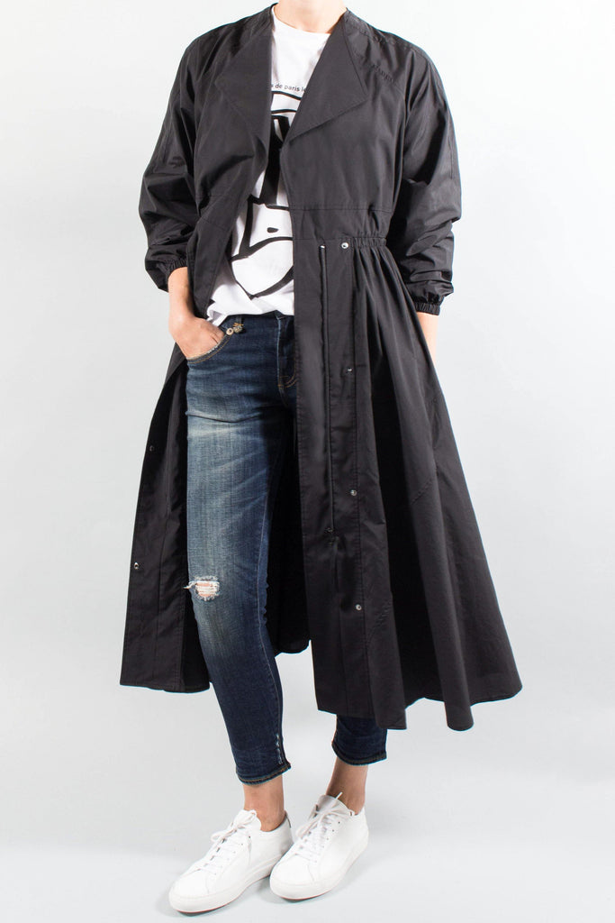 ENFOLD Taffeta Coat Dress