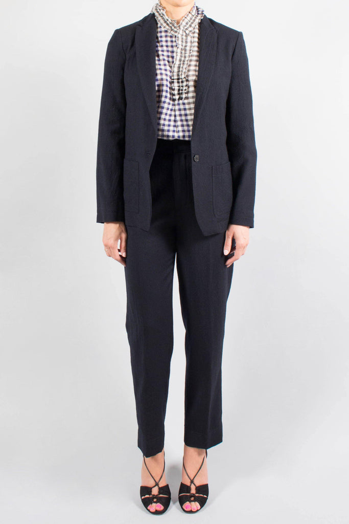Forte.Forte Soft Wool Menswear Trouser