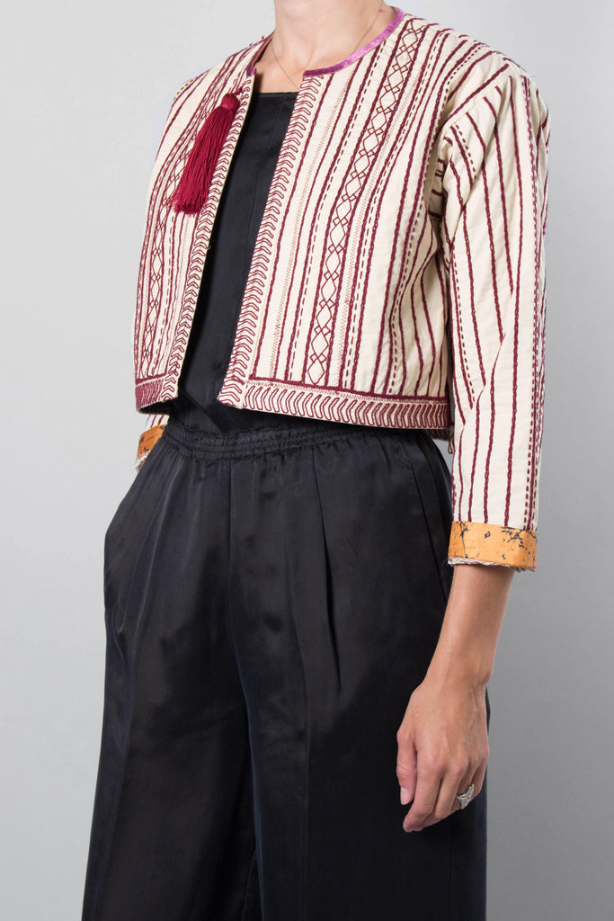 Forte Forte Embroidered Bolero Jacket