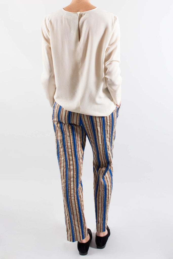 Forte.Forte Lurex Stripe Pants