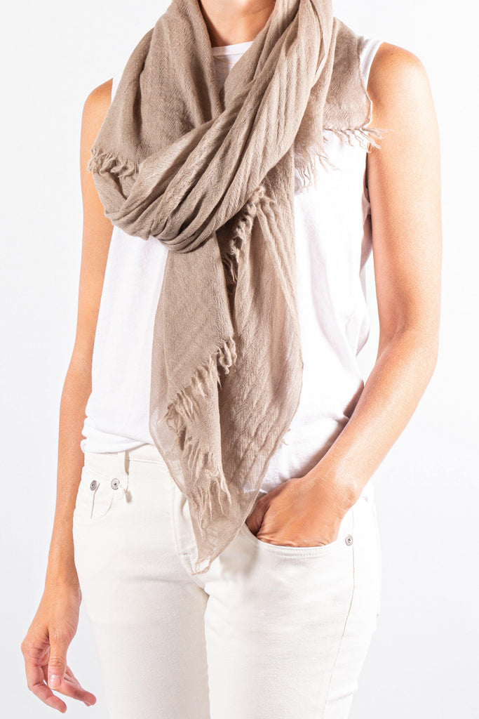 Private 0204 Cashmere Gauze Scarf