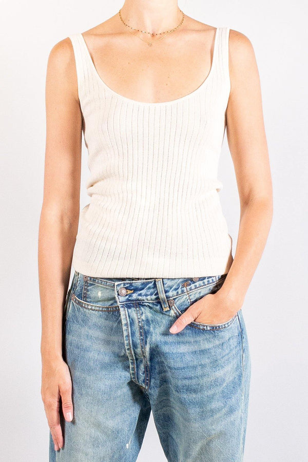CO Pointelle Sweater Tank
