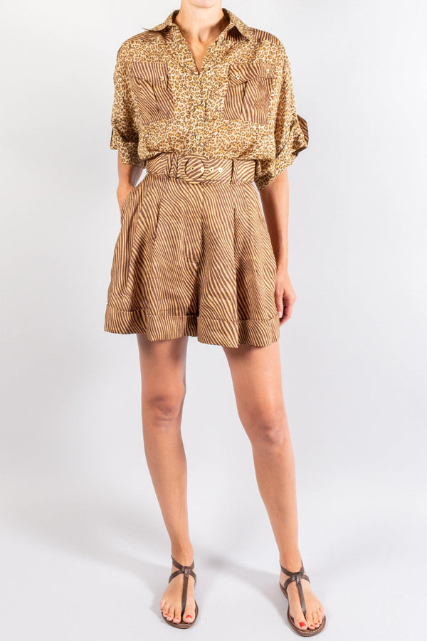 Zimmermann Empire Cuffed Short