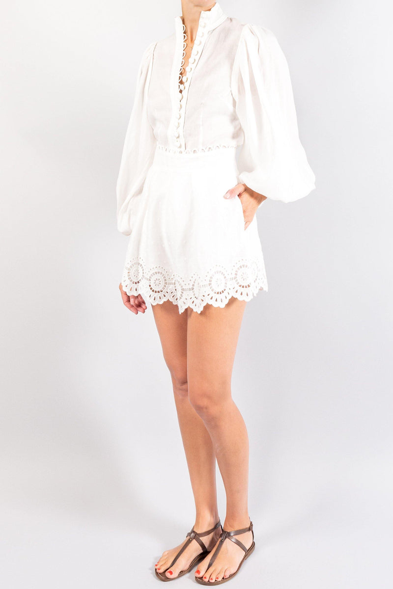 Zimmermann Brightside Piped Body Shirt