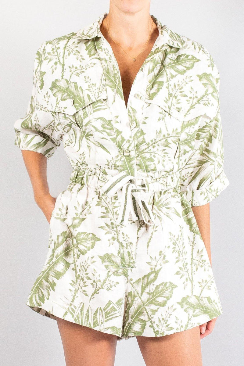 Zimmermann Empire Utility Playsuit