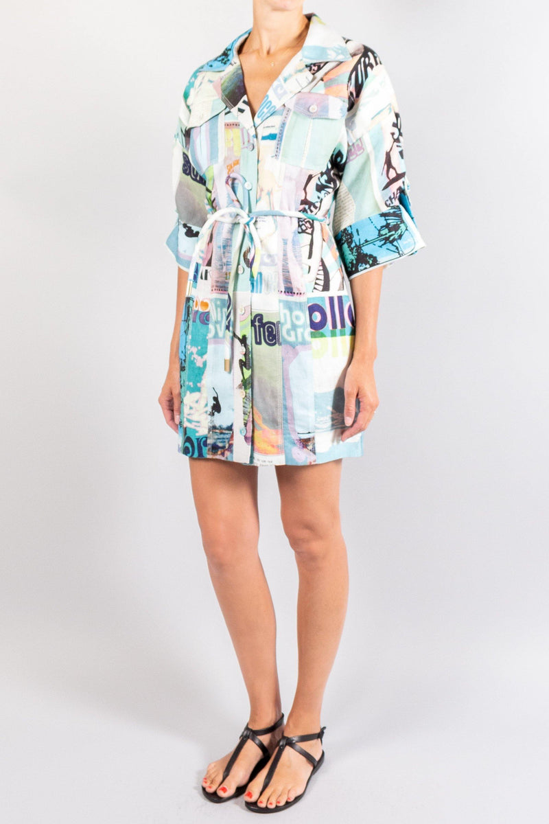 Zimmermann Glassy Safari Mini Dress