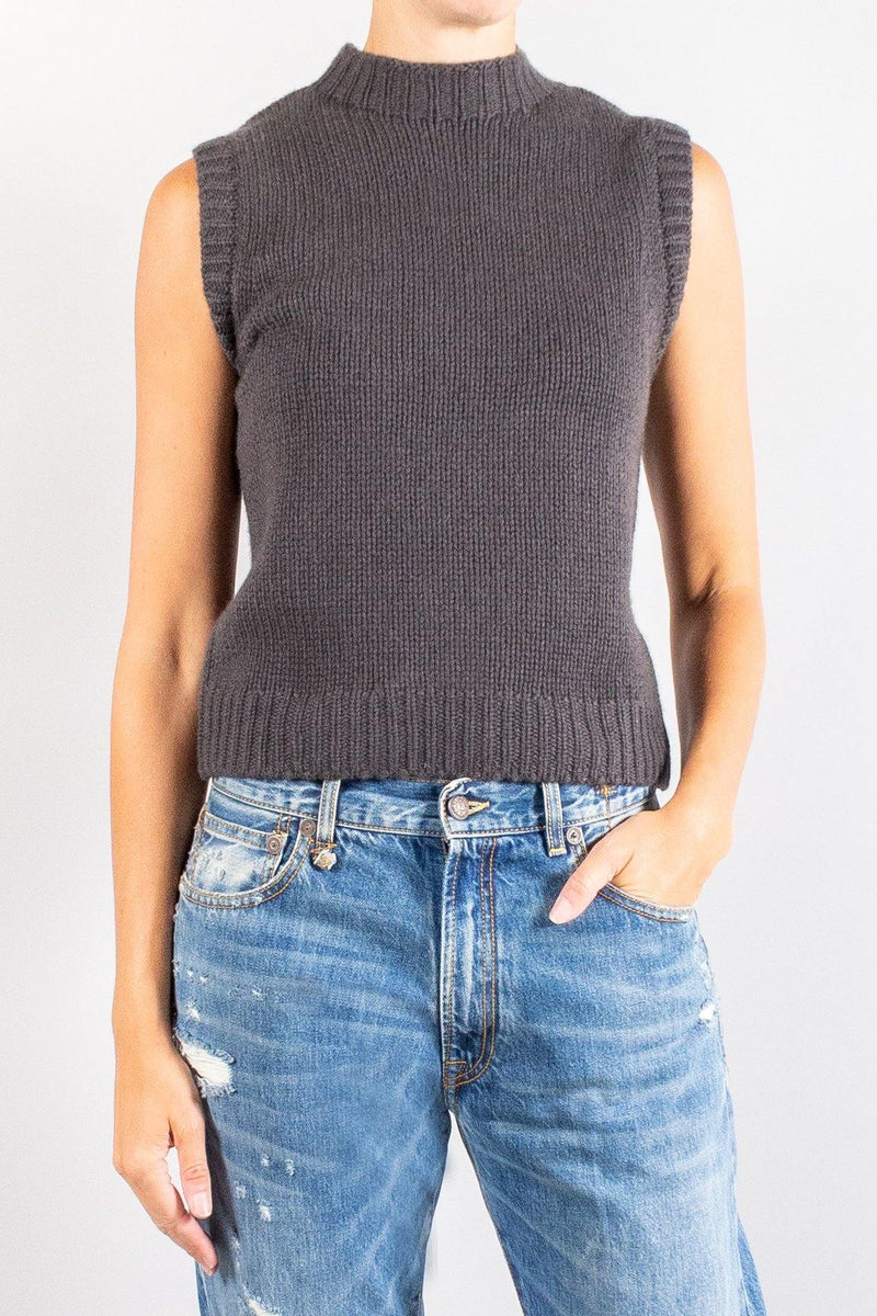 Sablyn Aiden Sleevless Cashmere Top