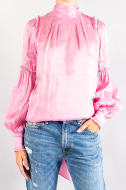 Aje Psychedelia Roll Neck Blouse
