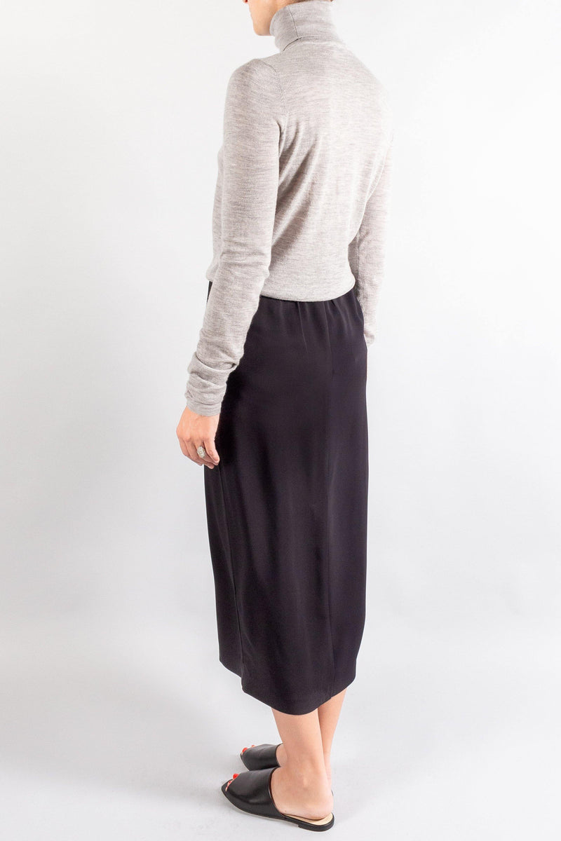 CO Elastic Waistband  Slim Skirt