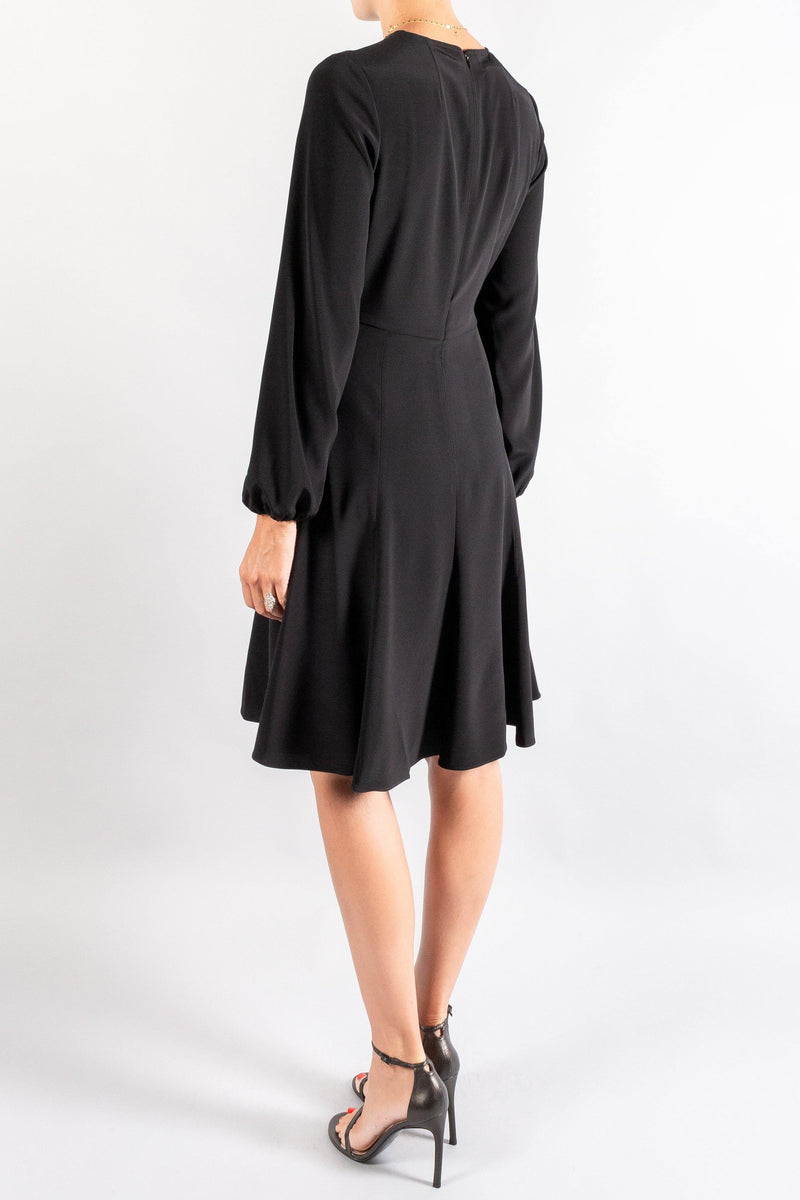 Co Peasant Sleeve Short Dress