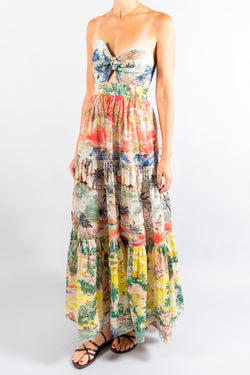 Zimmermann Juliette Tie Front Dress