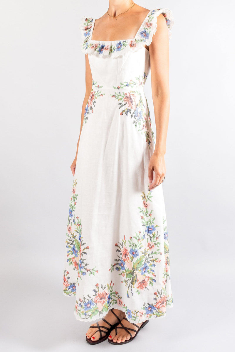 Zimmermann Juliette Cross Stitch Dress
