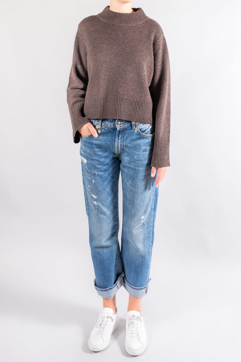 CO Boxy Crew Neck Sweater