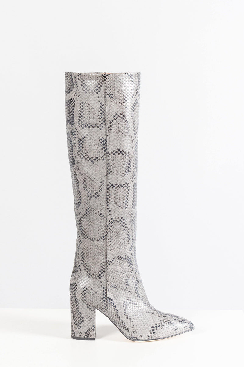 Paris Texas Stamped Python Boot