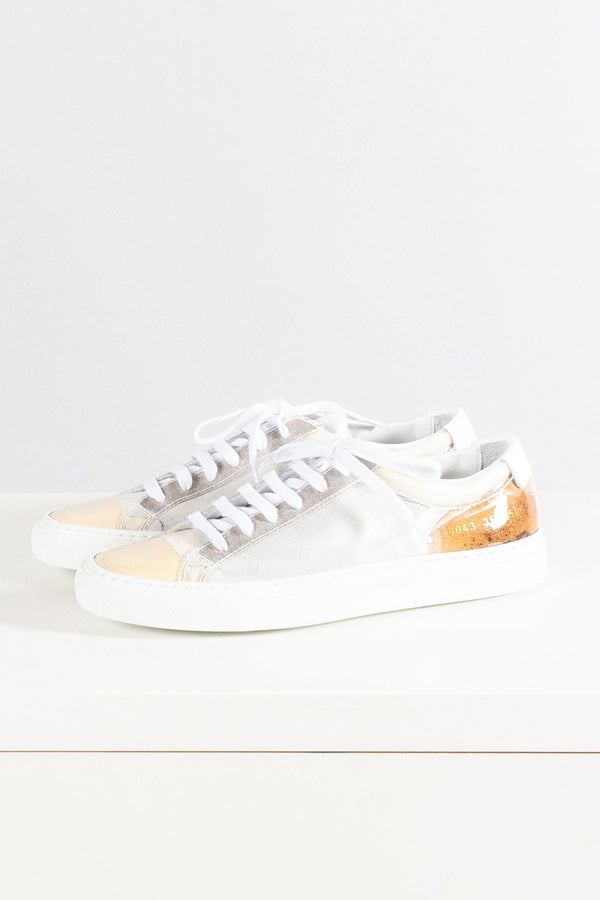 Common Projects Achilles Clear Low Cut Sneaker