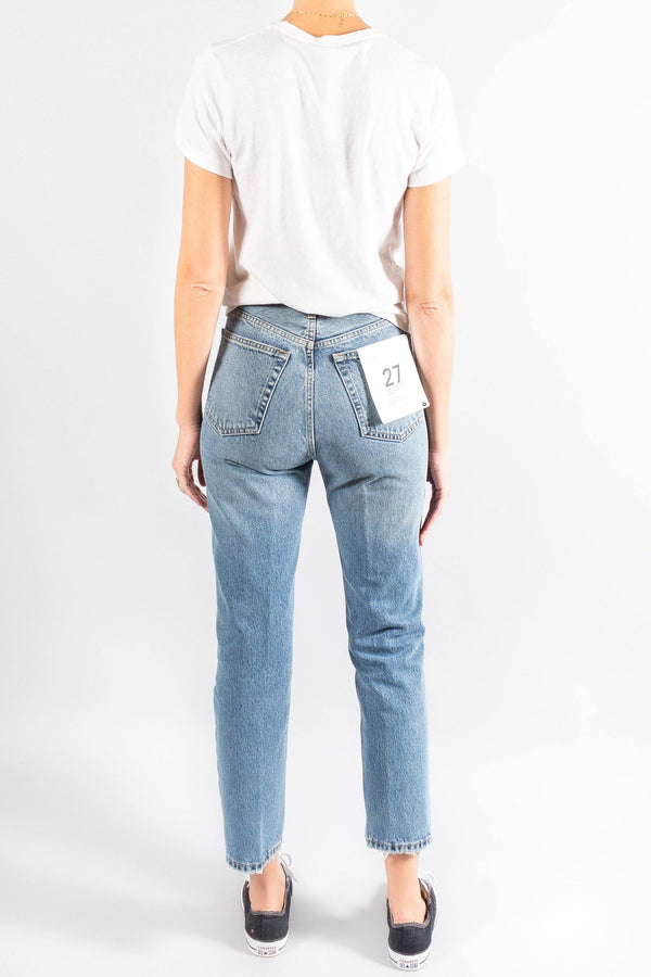 Re/Done Ultra Stove Pipe Jeans