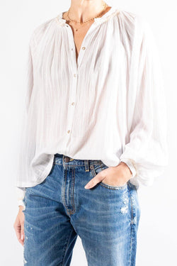 Forte Forte Striped Voile Bohemian Shirt