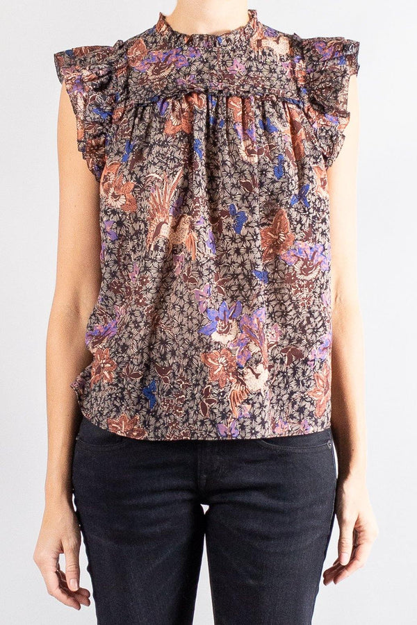 Tops - Ulla Johnson Louise Top - Misch - Vancouver Canada