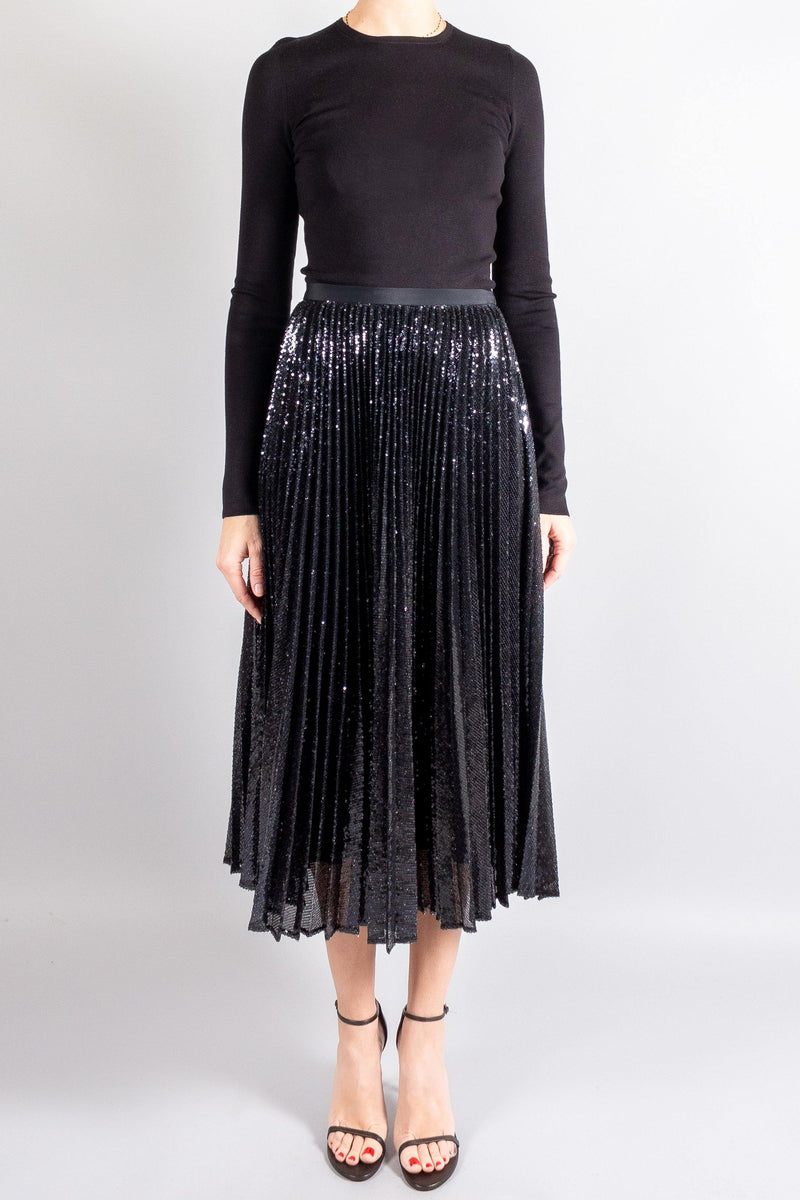 Skirts - Joseph Sparkle Pleated Skirt - Misch - Vancouver Canada