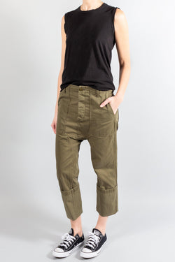 Pants and Shorts - R13 Utility Drop Crotch Pant - Misch - Vancouver Canada