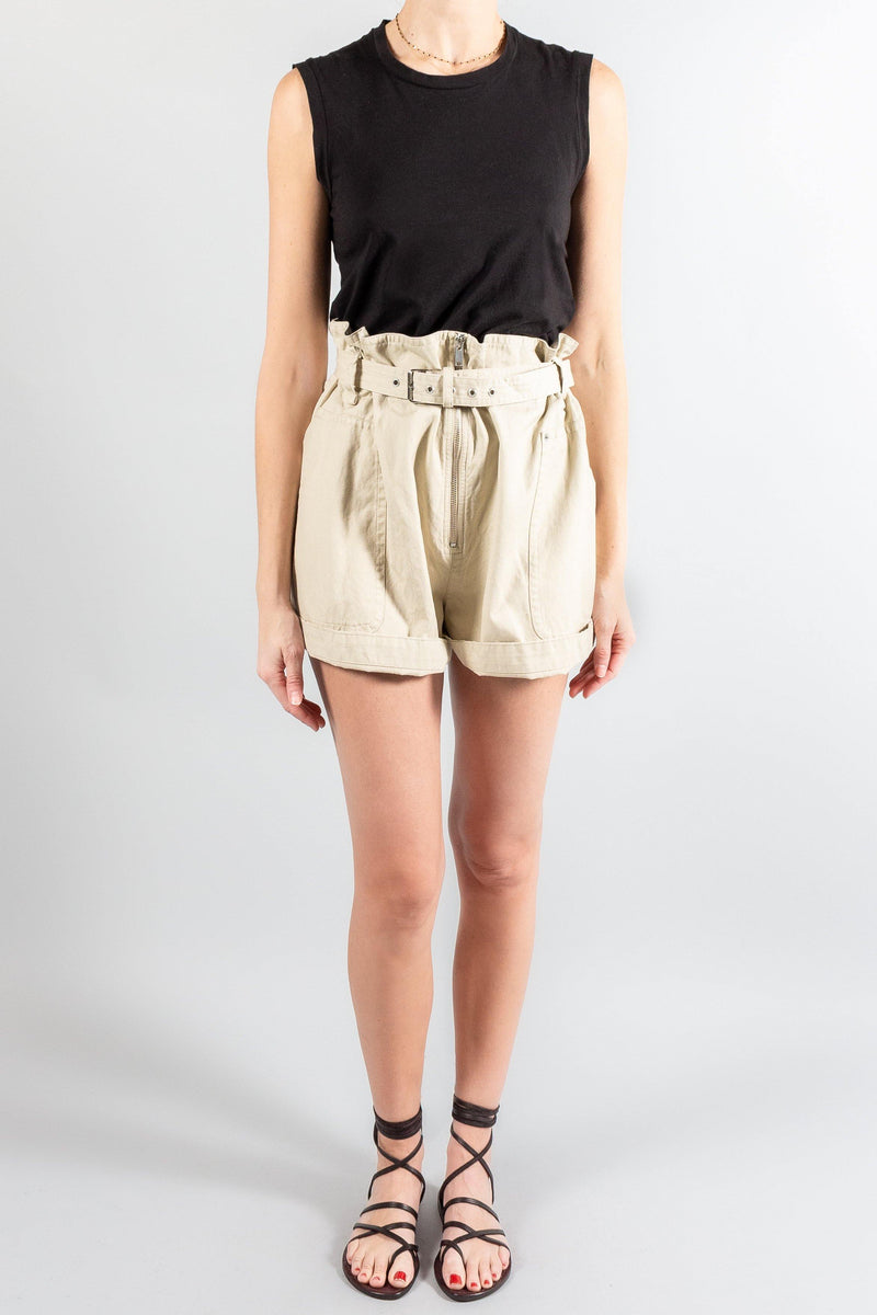 Pants and Shorts - Isabel Marant Etoile Parana Shorts - Misch - Vancouver Canada
