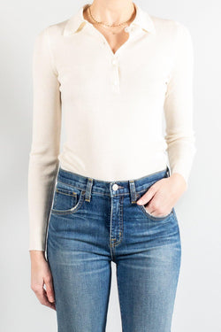 Nili Lotan Daisy Polo Sweater