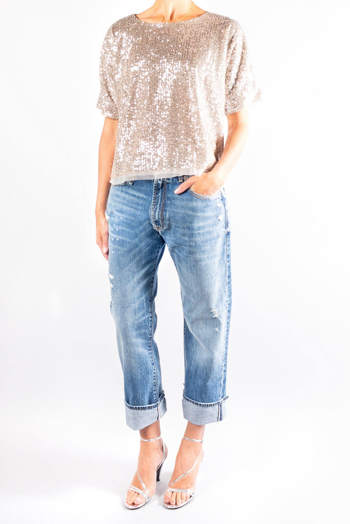 Pomandere Sequin T-Shirt