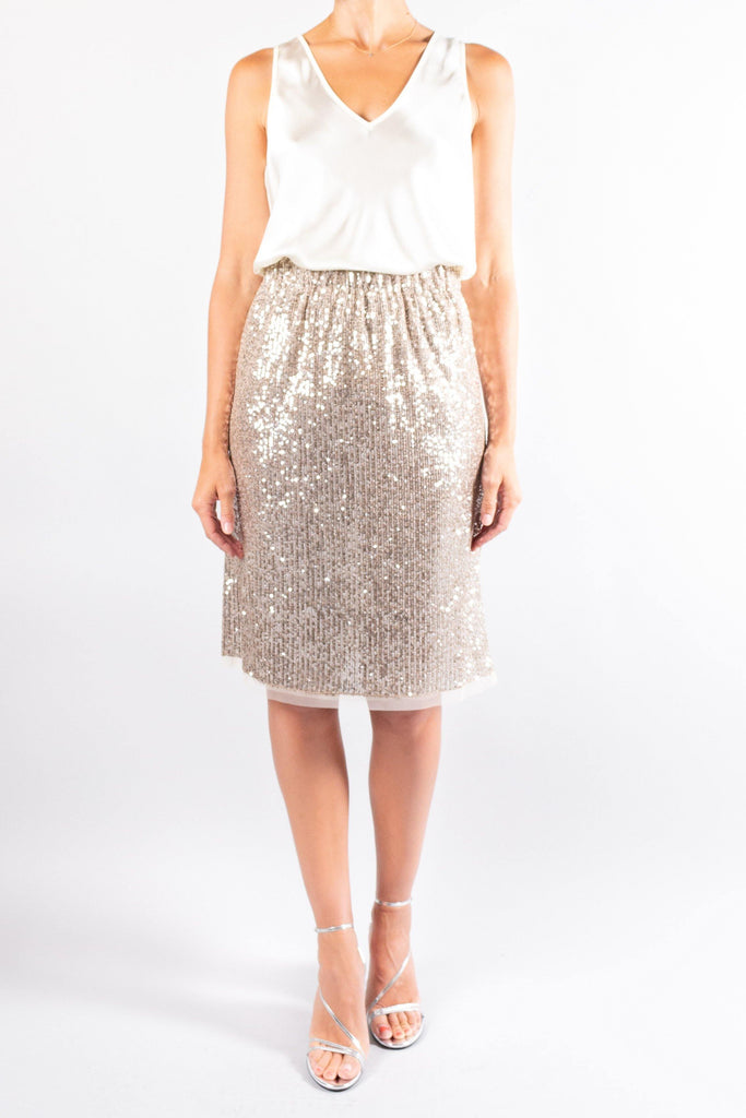 Pomandere Sequin Skirt