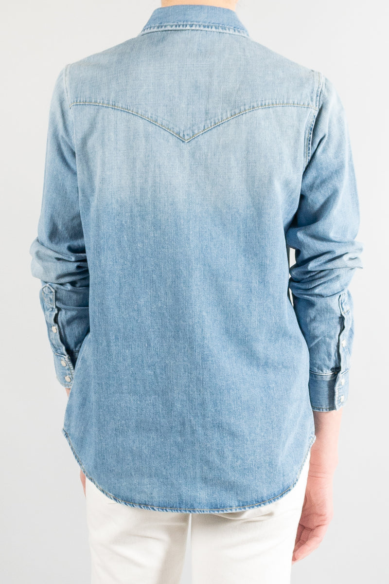 Nili Lotan Travis Denim Shirt