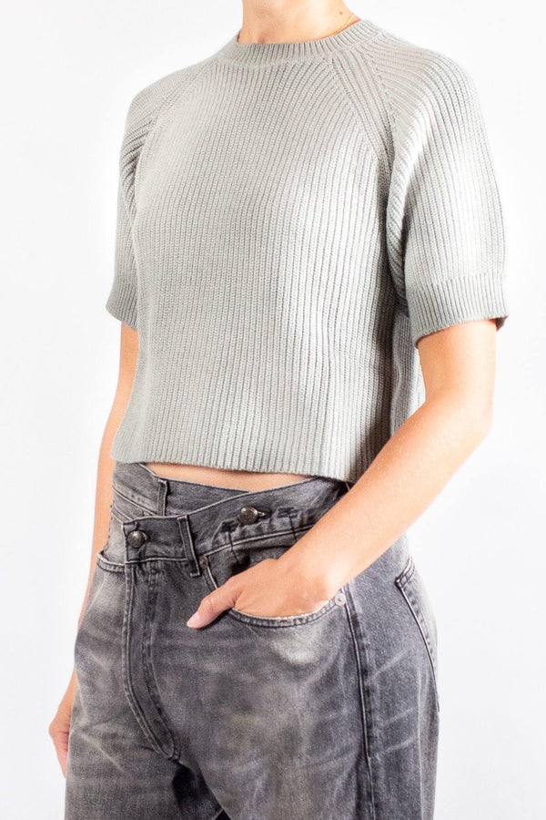 Apiece Apart Serra Crop Sweater