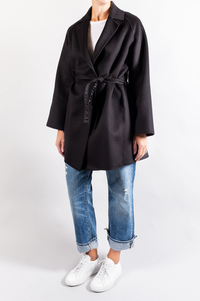 Forte Forte Chic Wool Cloth Short Coat