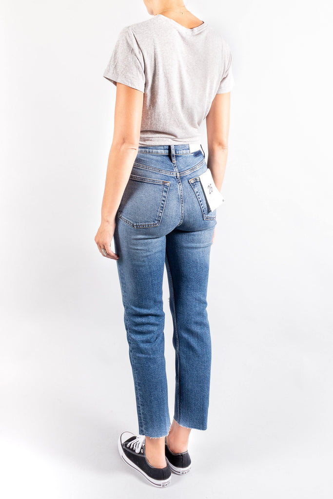 RE/Done Ultra High-Rise Stovepipe Denim
