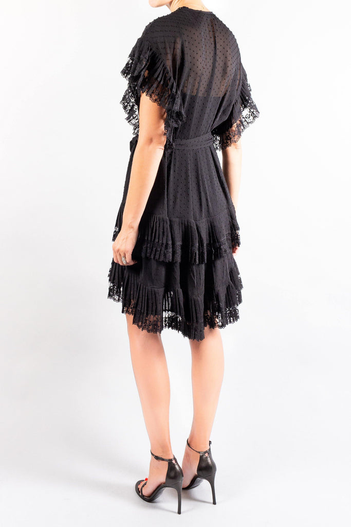 Zimmermann Espionage Pleat Frill Mini
