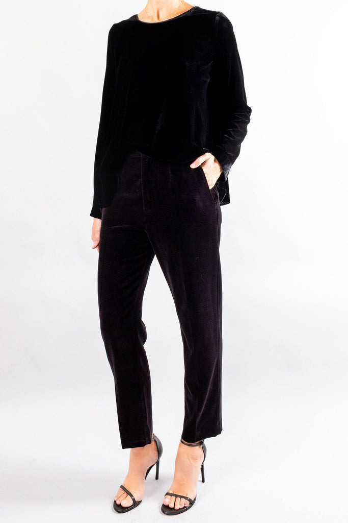 Forte Forte Slubbed Cotton Velvet Pants