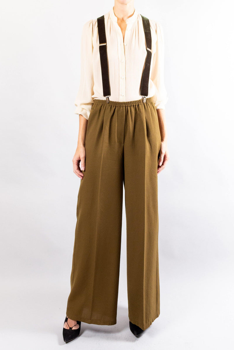 Forte Forte Wool Structured Wide Pants