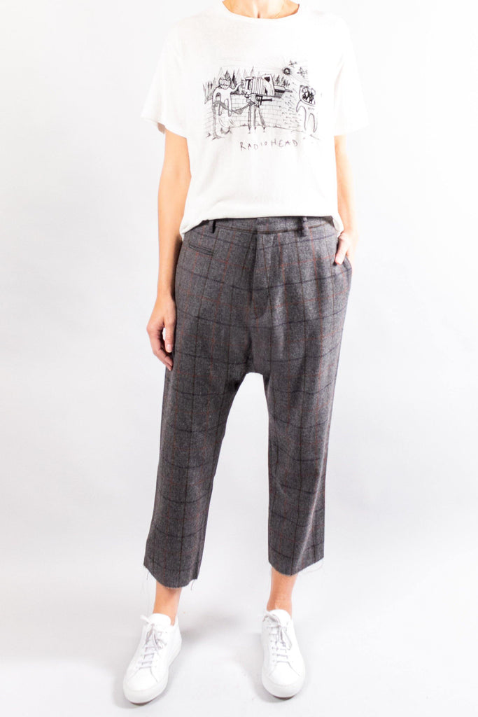 R13 Tailored Drop Trouser