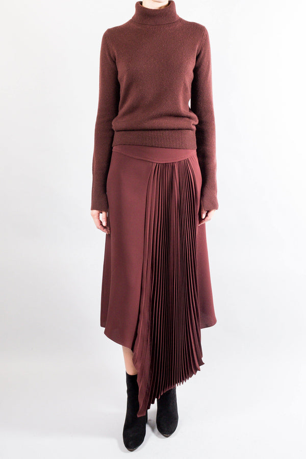 Joseph Pleated Silk SELMA Skirt