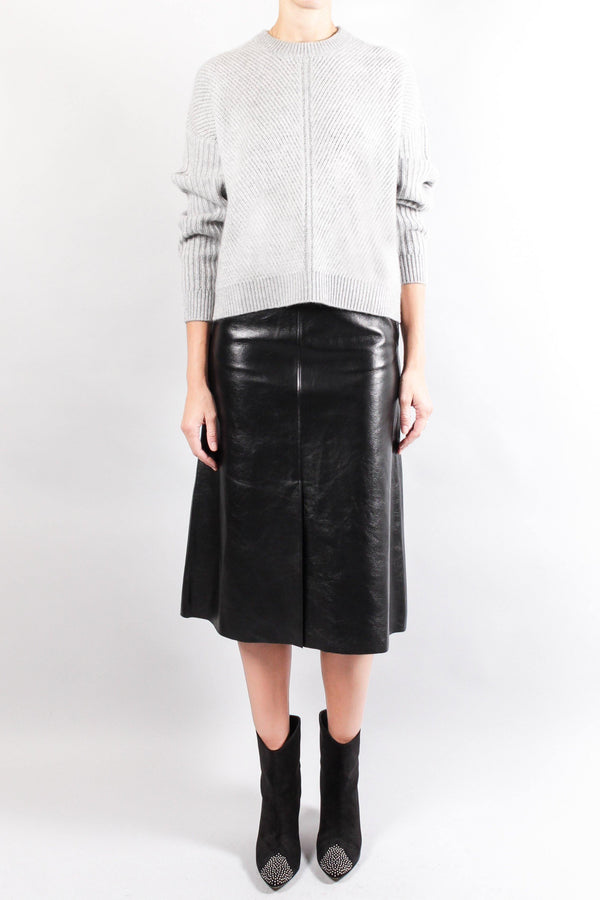 Joseph IDEN Leather Skirt
