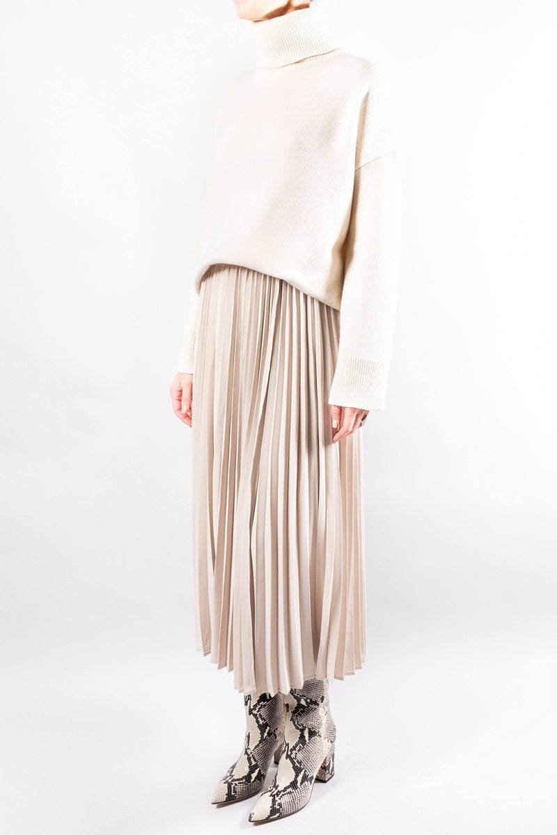 CO Pleated Wrap Skirt