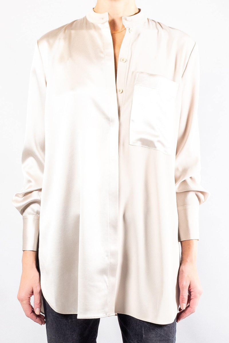 CO Long Sleeve Banded Neck Shirt