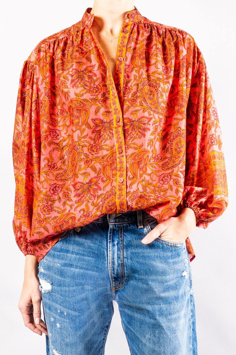 Zimmermann Edie Button Blouse