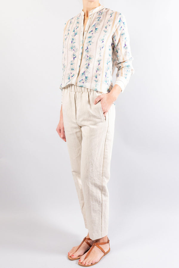Forte Forte cotton linen structured pants