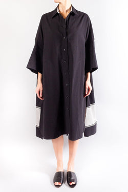 Joseph Baker Moroccan Stripe Linen Dress
