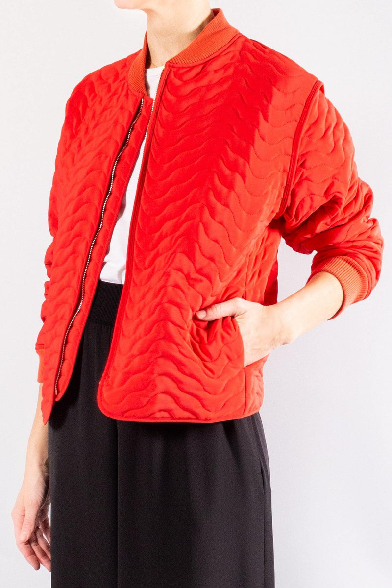 Forte Forte quilted bomber