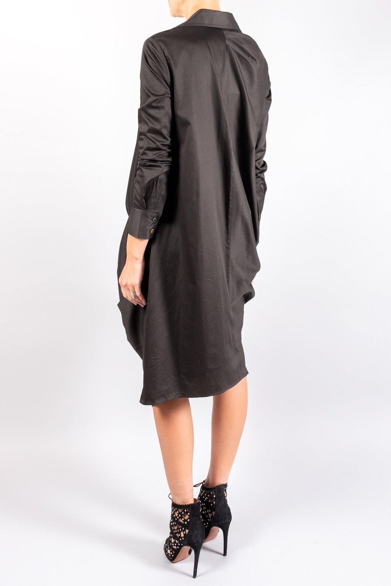 CO Knotted Shirt Dress